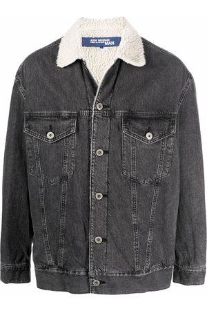 JUNYA WATANABE Miehet Farkkutakit - Shearling-lined denim jacket