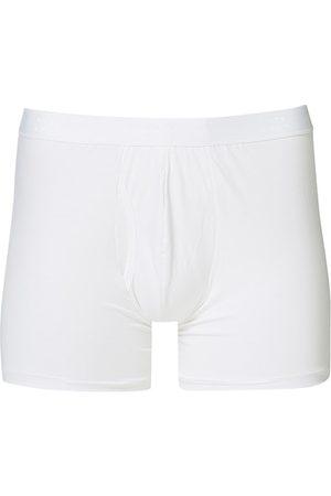 DEREK ROSE Miehet Alushousut - Pima Cotton Stretch Trunk White