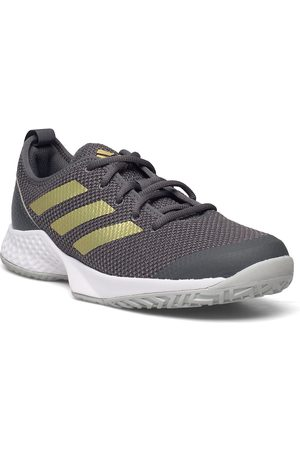 adidas Performance Court Control W Shoes Sport Shoes Racketsports Shoes Harmaa