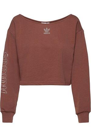 adidas 2000 Luxe Slouchy Crew Sweatshirt W Svetari Collegepaita Punainen