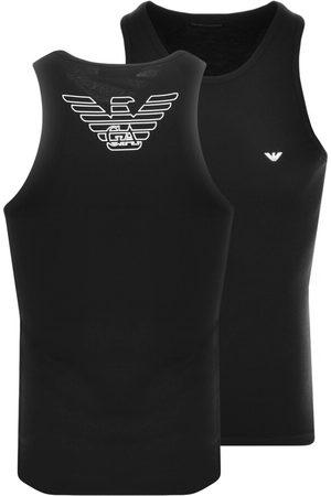 Armani Miehet T-paidat - Emporio Vest T Shirt Black