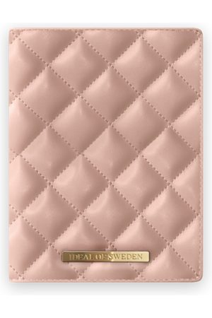IDEAL OF SWEDEN Sylvie Meis Passport Cover Quilted Dusty Rose