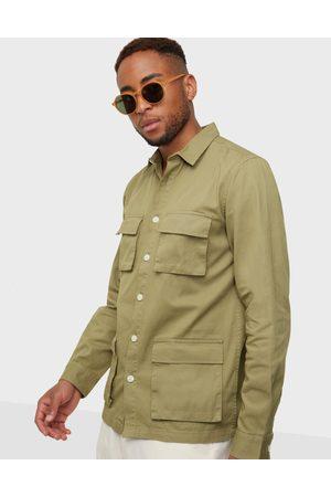 Redefined Rebel Miehet Kauluspaidat - RRGodin Shirt Kauluspaidat Dried Herb