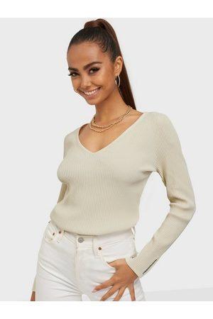 Calvin Klein Jeans Micro Branding V-Neck Sweater