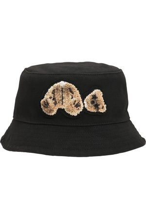 Palm Angels Bear Cotton Bucket Hat