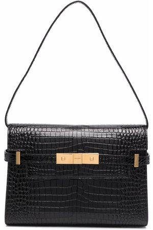 Saint Laurent Manhattan embossed shoulder bag