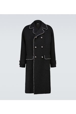 Dolce & Gabbana Double-breasted wool-blend coat