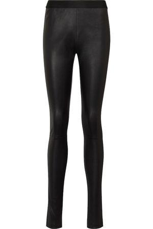 ANN DEMEULEMEESTER Elien leather leggings