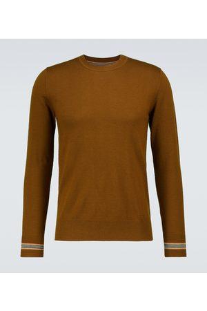 Burberry Miehet Neuleet - Paradise crewneck wool sweater