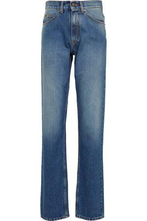 Maison Margiela Naiset Korkeavyötäröiset - High-rise straight jeans