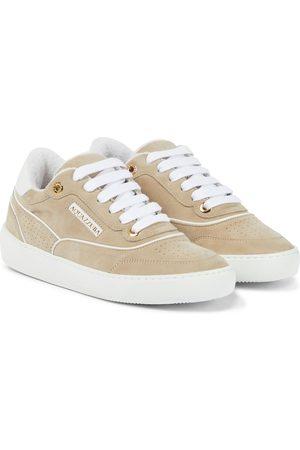 Aquazzura A25 suede sneakers