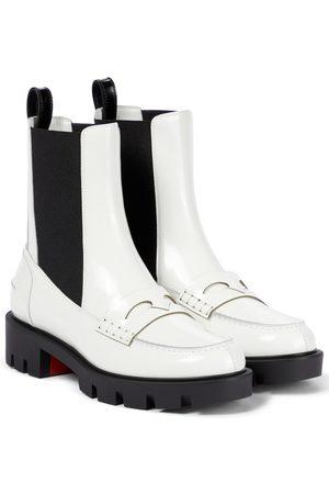 Christian Louboutin Montezu leather ankle boots