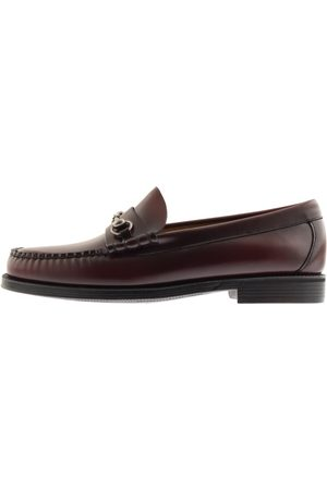 G.H. Bass Weejun Lincoln Leather Loafers Burgundy