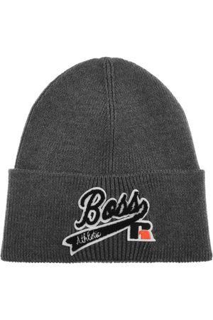 HUGO BOSS BOSS Floley Beanie Hat Grey