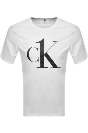 Calvin Klein Lounge Logo T Shirt White