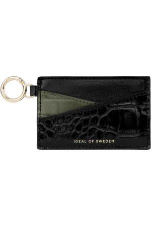 IDEAL OF SWEDEN Naiset Lompakot - Ora Cardholder Keyring Khaki Croco