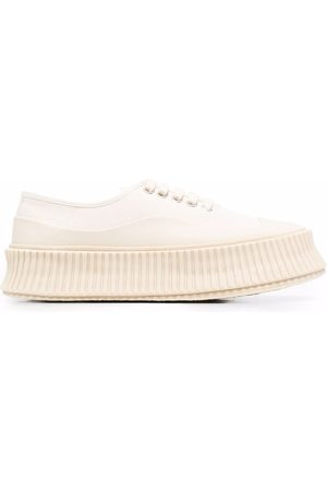 Jil Sander Ribbed chunky sole sneakers