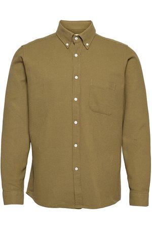 Far Afield Miehet Kauluspaidat - Mod Button Down L/S Shirt Paita Rento Casual