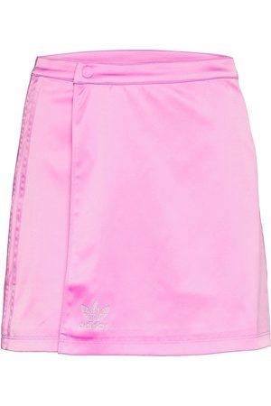 adidas 2000 Luxe Wrap Skirt W Lyhyt Hame Vaaleanpunainen