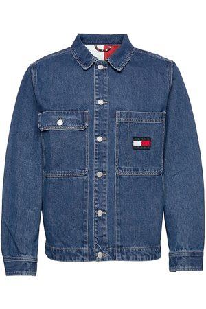 Tommy Hilfiger Miehet Farkkutakit - Boxy Shirt Jacket Ae731 Svmbr Farkkutakki Denimtakki