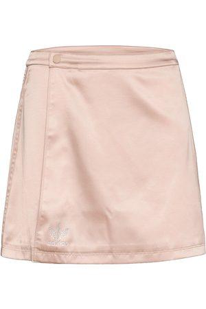 adidas Naiset Minihameet - 2000 Luxe Wrap Skirt W Lyhyt Hame Kermanvärinen