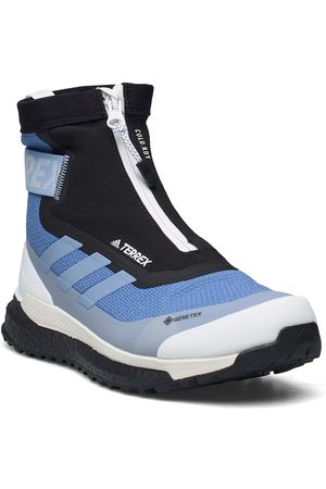 adidas Naiset Ulkoilukengät - Terrex Free Hiker Cold.Rdy Hiking Boots W Shoes Sport Shoes Outdoor/hiking Shoes Sininen
