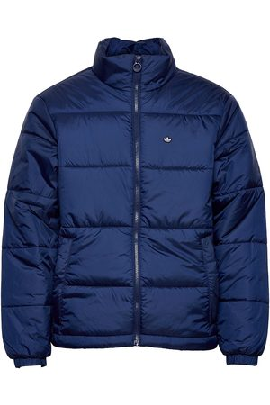 adidas Miehet Talvitakit - Padded Stand-Up Collar Puffer Jacket Vuorillinen Takki Topattu Takki Sininen