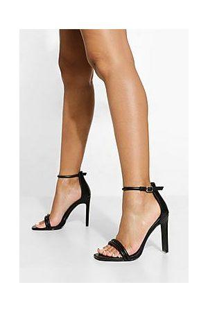 Boohoo Naiset Sandaletit - Padded Double Strap 2 Part Sandal