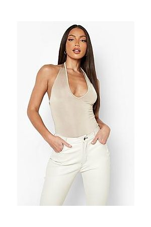 Boohoo Tall Recycled Plunge Bodysuit