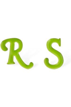 RAF SIMONS R & S Stud Earrings