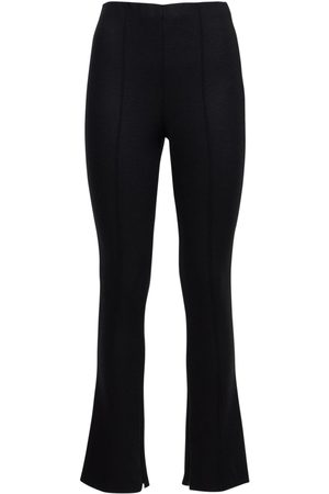 GIORGIO ARMANI Naiset Kapeat - Wool Blend Jersey Skinny Pants