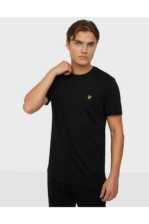 Lyle & Scott Miehet T-paidat - Plain T-Shirt T-paidat ja topit Jet Black