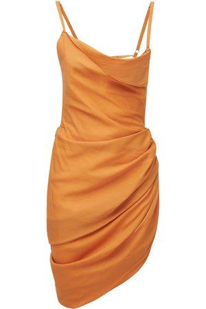 JACQUEMUS La Robe Saudade Viscose Mini Dress