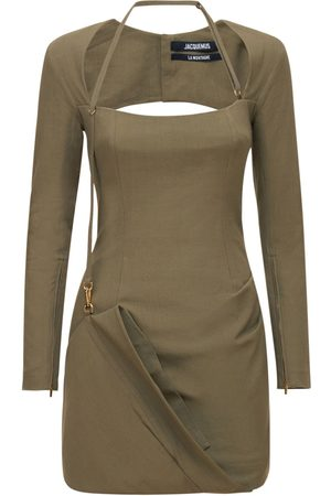 JACQUEMUS Naiset Minimekot - La Robe Esca Viscose Blend Mini Dress