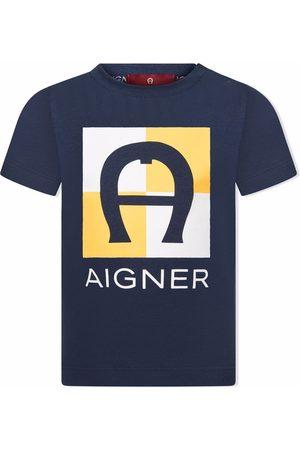 Aigner Logo-print cotton T-shirt