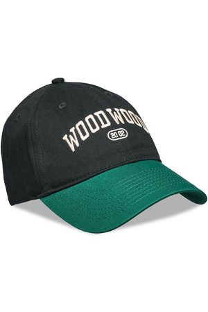 WoodWood Brian Ivy Cap Accessories Headwear Caps Vihreä