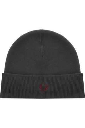 Fred Perry Beanie Hat Grey