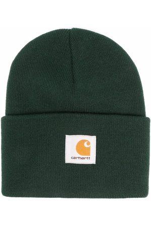 Carhartt Miehet Pipot - Logo-patch knitted beanie