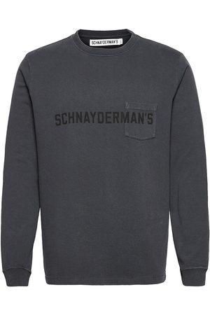 Schnaydermans T-Shirt Longsleeve Neulepaita Pyöreä Kaula-aukko