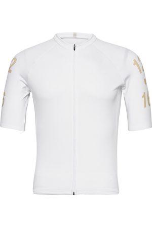TWELVE SIXTEEN 0145 Jersey S/S Elite White/Gold T-shirts Short-sleeved