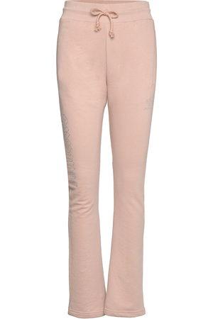 adidas 2000 Luxe Open Hem Track Pants W Collegehousut Olohousut Vaaleanpunainen
