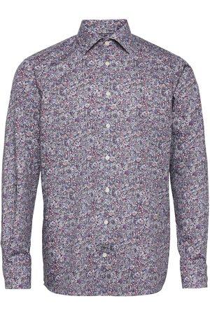 Eton Men'S Shirt: Business Signature Twill Paita Bisnes Monivärinen/Kuvioitu