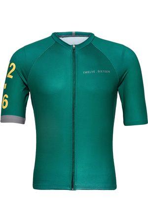 TWELVE SIXTEEN 0168 Jersey S/S Elite Green/Grey T-shirts Short-sleeved