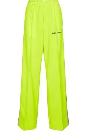 Palm Angels Wide-leg sweatpants