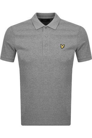 Lyle & Scott Miehet T-paidat - Short Sleeved Polo T Shirt Grey