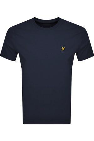 Lyle & Scott Miehet T-paidat - Crew Neck T Shirt Navy