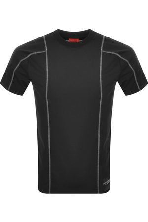 HUGO BOSS Miehet T-paidat - Dotanist Crew Neck T Shirt Black