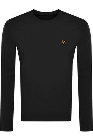 Lyle & Scott Miehet T-paidat - Crew Neck T Shirt Black