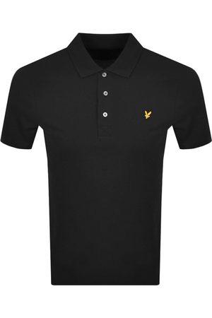 Lyle & Scott Miehet T-paidat - Short Sleeved Polo T Shirt Black