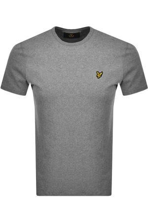 Lyle & Scott Miehet T-paidat - Crew Neck T Shirt Grey